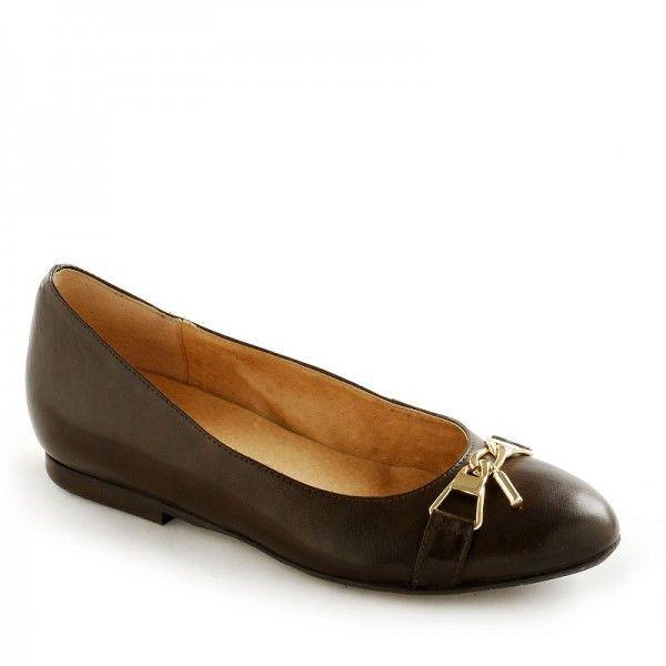 Sklep Rylko Kobieta Baleriny Brazowe 249 90 Shoes Loafers Fashion
