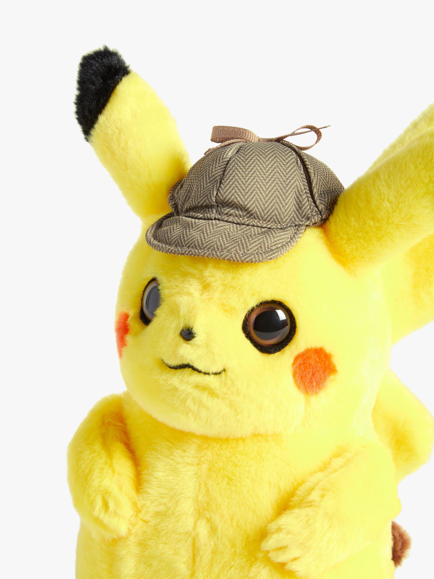 Pokemon Detective 8 Pikachu Plush Soft Toy In 2020 Pokemon