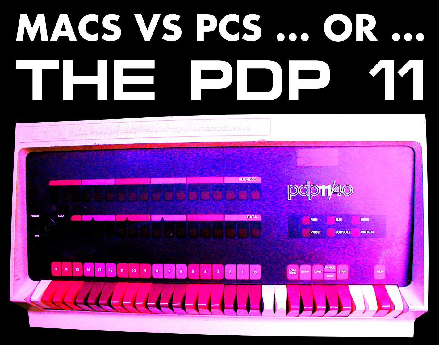 Macs Vs PCs ... or …