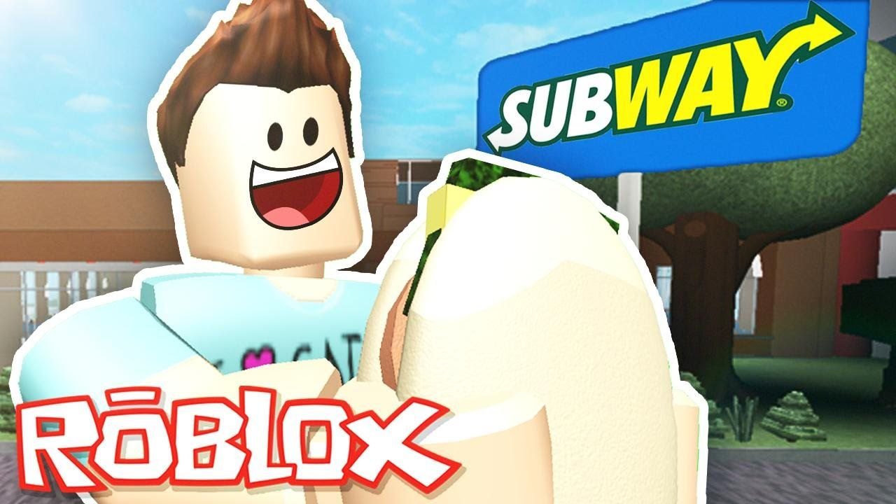 Roblox Adventures Subway Tycoon Building My Own Fast Food