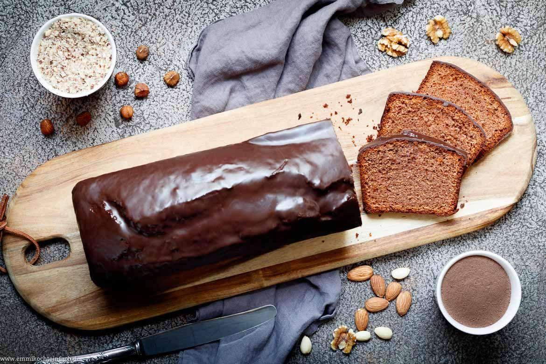 Schoko Nuss Becherkuchen Rezept Becherkuchen Schoko Nuss Kuchen Becherkuchen Schoko