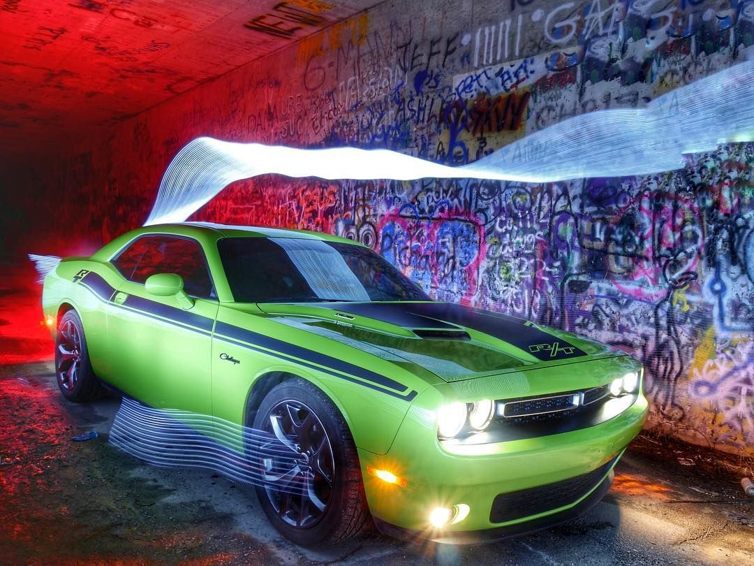 How bout a little lightpainting automobilephotography to