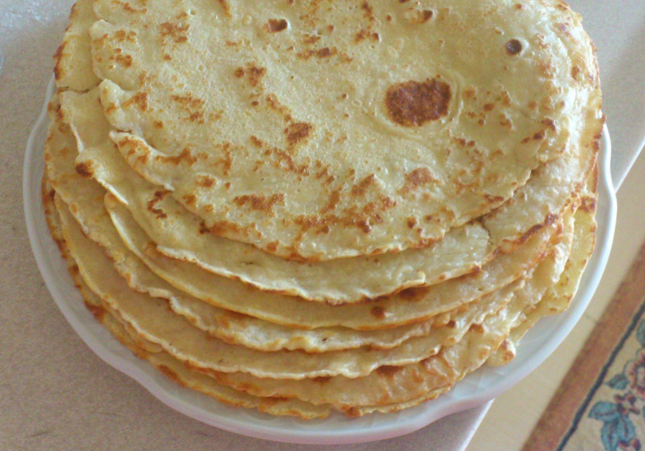 Peynirli Krep Nasıl Yapılır - Kahvaltılık Krep (8-9 Adet)