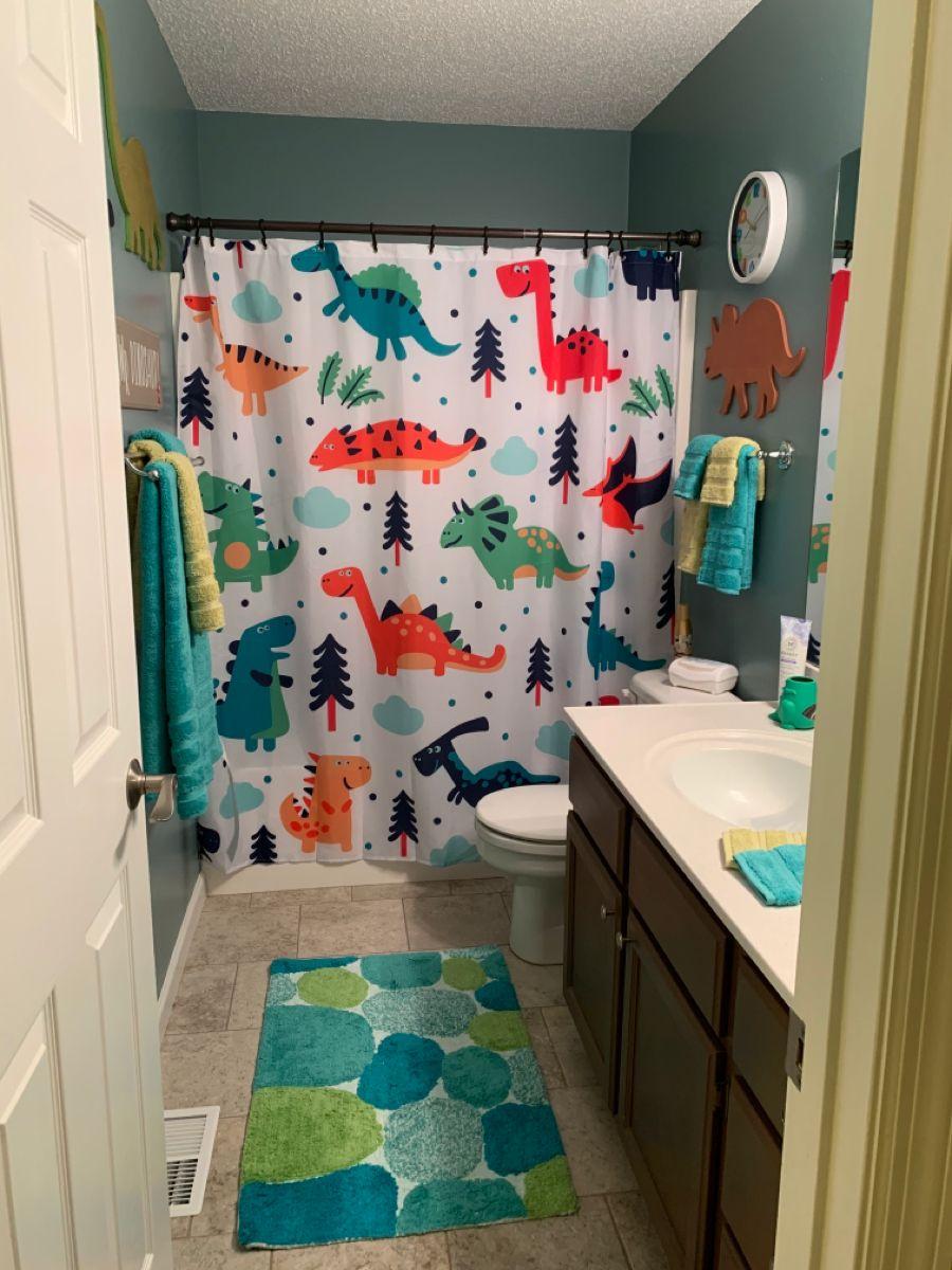 Dinosaur Themed Bathroom Kid Bathroom Decor Boys Bathroom Decor Kids Bathroom Themes Baby boy bathroom decor