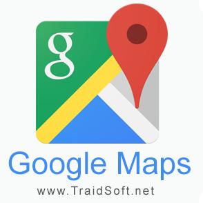 تحميل برنامج خرائط جوجل Google Maps 2021 مجانا لجميع أنواع الهواتف ترايد سوفت Google Google Maps Tech Logos