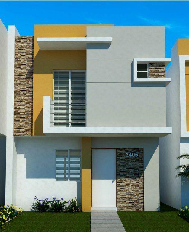 Dalí #casaspequeñasfachadas #casasmodernasfachadasde - Idee Facade Maison Moderne