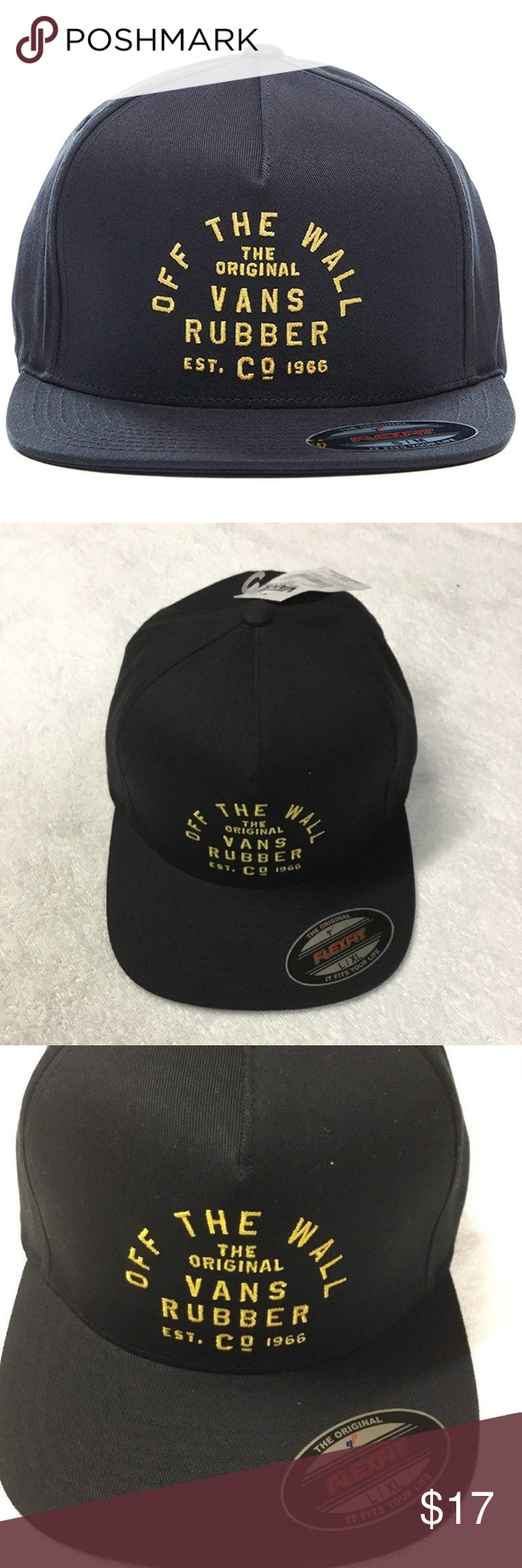 fbe870ac27b Vans Men s Stacked Rubber Hat Black NWT Vans Men s Stacked Rubber Hat Black  NWT.AUTHENTIC