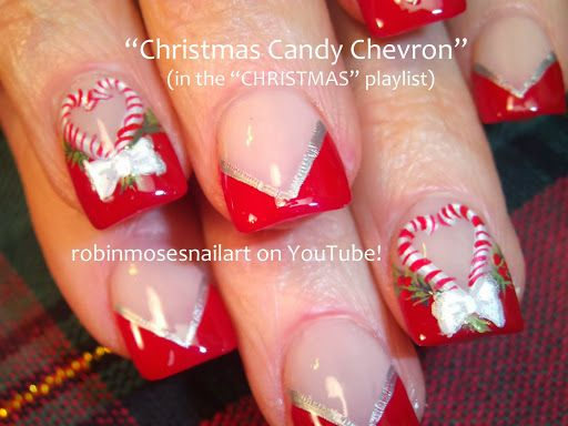 Christmas Nail Art Designs Photo Thanksgiving