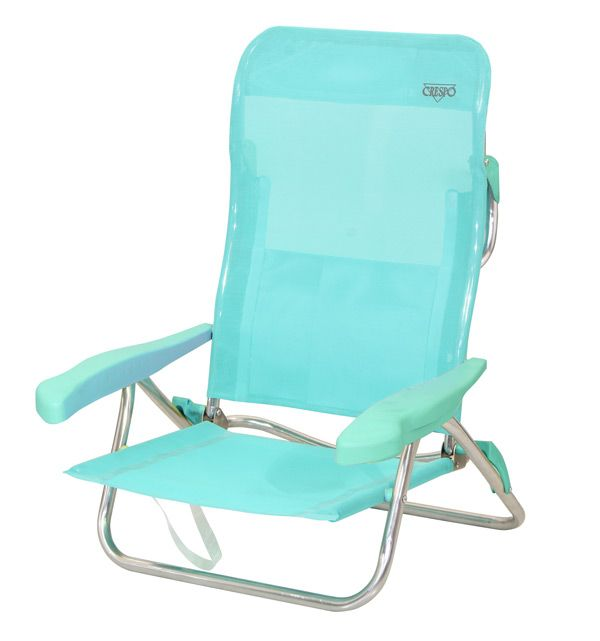CrespoMod 221 Silla cama playa- beach chair bed 6 posiciones y - sillas de playa