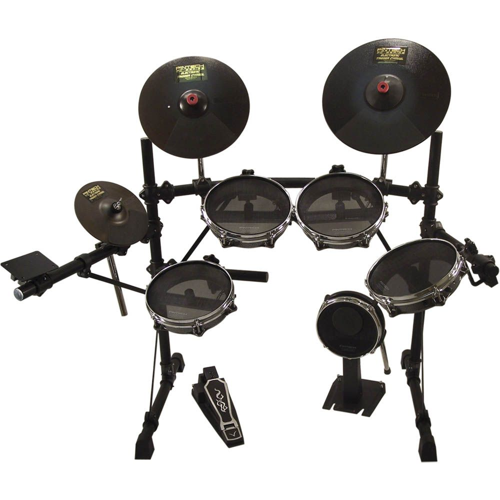 pintech e jam kit pintech s 5 piece e jam electronic drum kit features silentech mesh on the. Black Bedroom Furniture Sets. Home Design Ideas