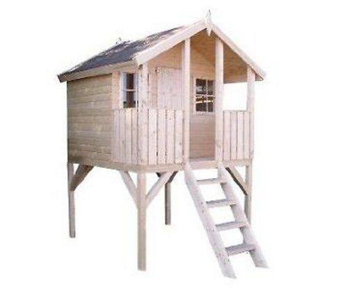Kinderspielhaus Tobi , auf Stelzen, ca. 180x190x288 cm