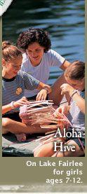 Aloha Hive for Girls- #SummerCamp in #FairleeVT