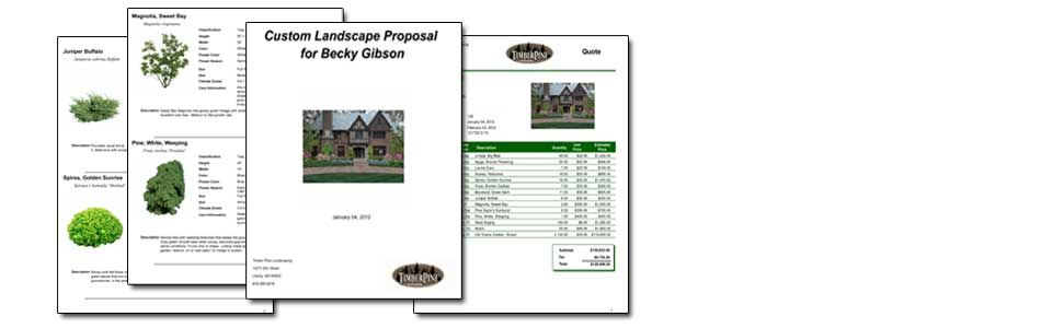 Proposals  Landscaping  PL