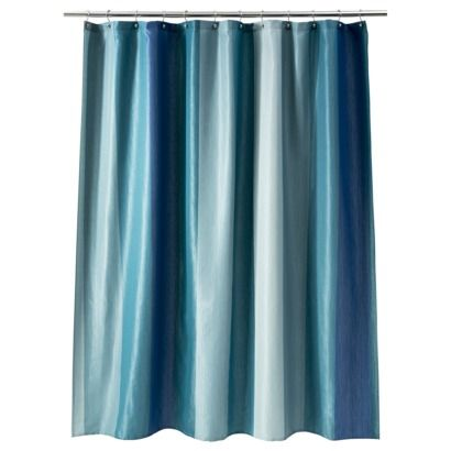 Target Threshold Shower Curtain Aquamarine Beach Shower
