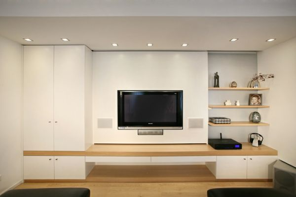 tv wand modern - google zoeken | interieur | pinterest | salons