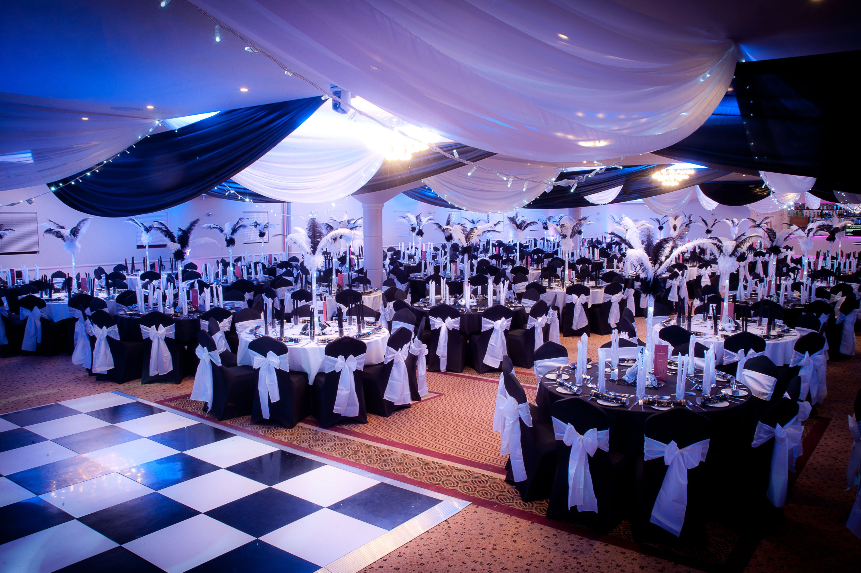 Black White Masquerade Ball At The Auction House Photo By Abraxasphotocouk Theming Theme Workscouk