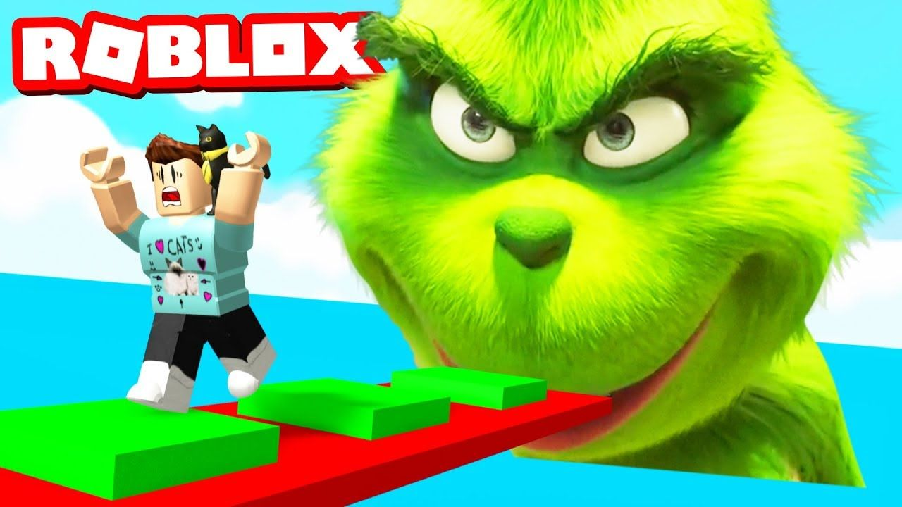 Roblox Build Your Own Obby Youtube Escape The Grinch Obby In Roblox Youtube Roblox Grinch Character