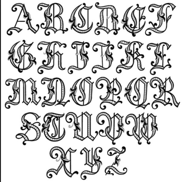 Baroque Font  Opulent Baroque    Fonts Flourish And