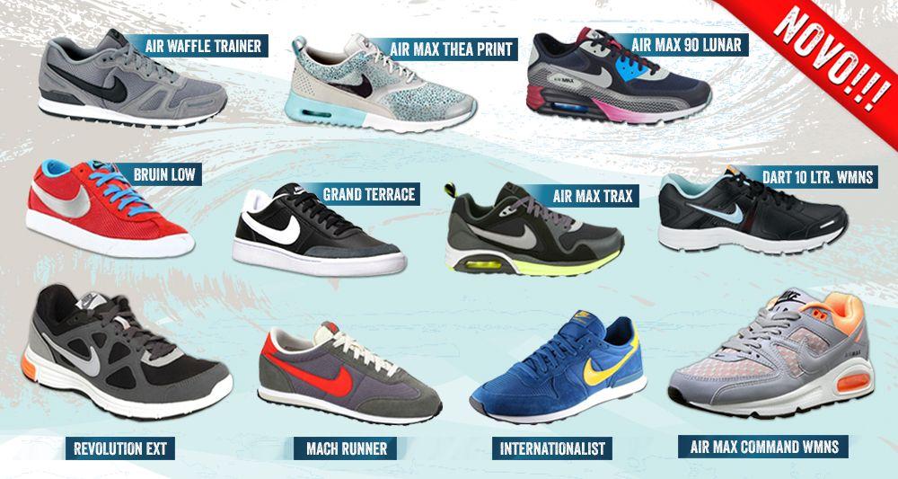 online store 1c828 89d4b Nova kolekcija NIKE patika za proleće-leto 2014 u Tref Sport radnjama.   patike  sportskaoprema