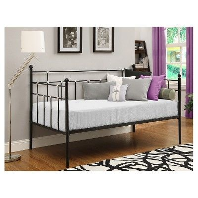 Metal Daybed - Twin - Black - Dorel Home Products in 2018 Products - Daybed Images