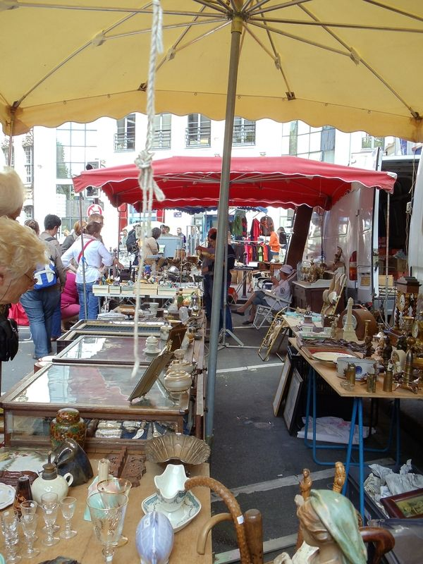 Lille France flea market. Held the first weekend in September ...