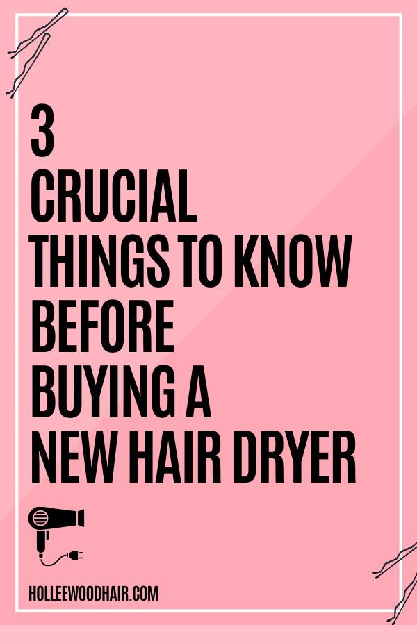 What You Need To Know Before Buying A Hair Dryer In 2020 -   13 professional hair Tips ideas
