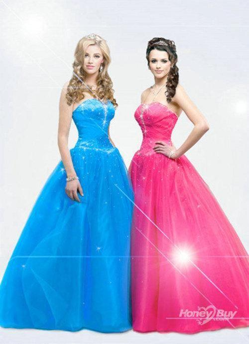Sweetheart Tulle Beading Bodice Design Stylish 2012 Sweet Sixteen ...