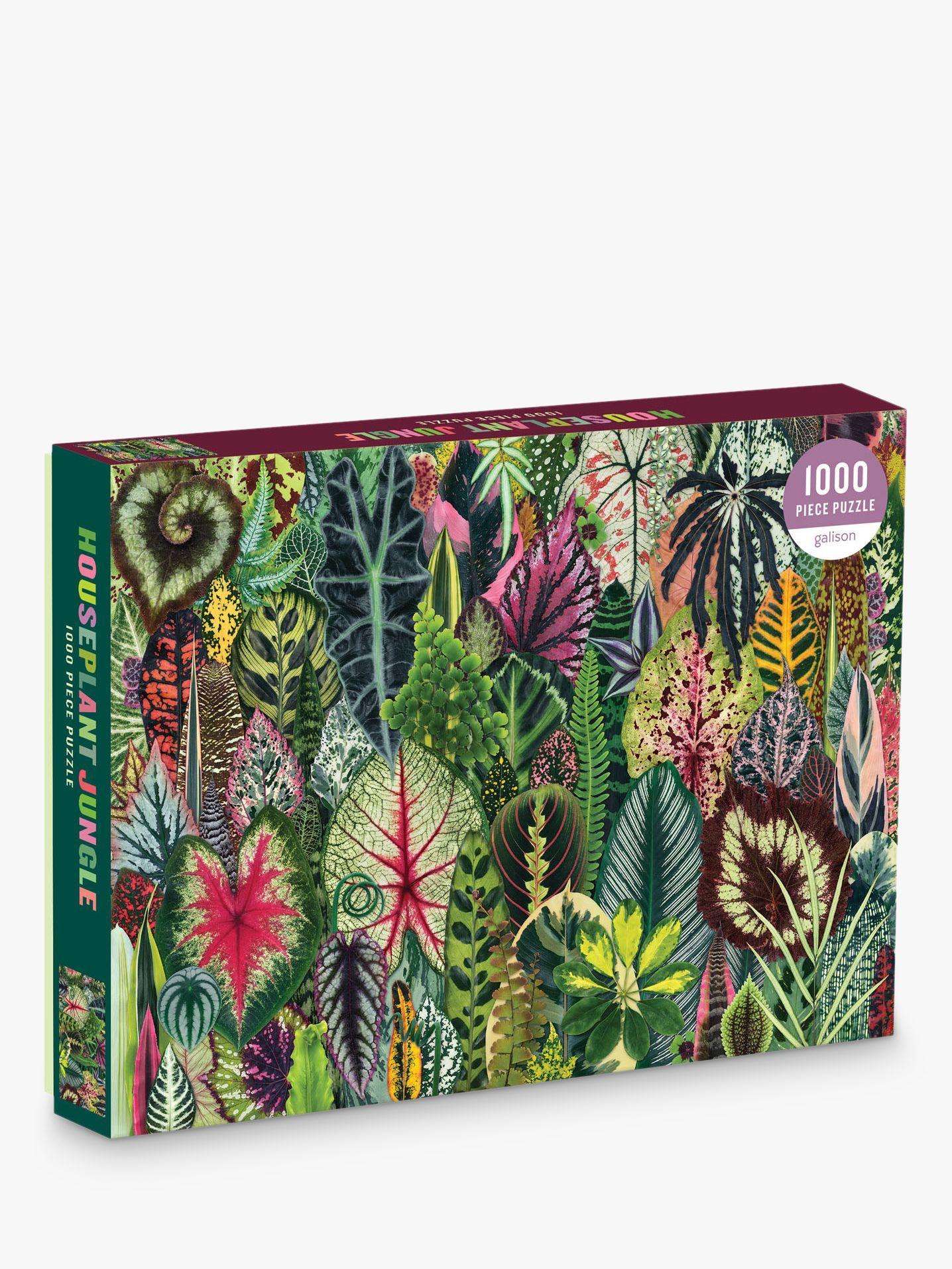 Galison Houseplant Jungle Jigsaw Puzzle