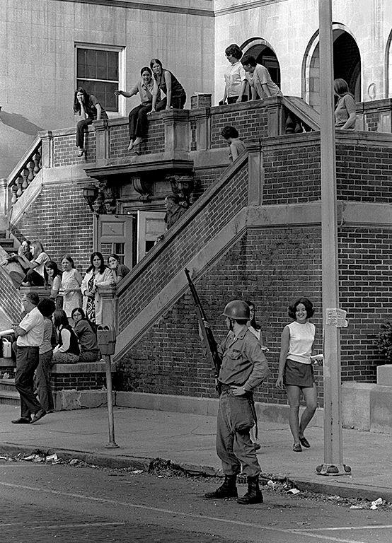 Ohio University Protests That Led To Closing Of School 05 14 15 1968 Ohio University Athens Ohio University Athens Ohio