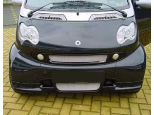 Smart Car Front Grill By S Mann Black 450 Model Smart Fortwo Cleaning Headlights On Car Smart Car