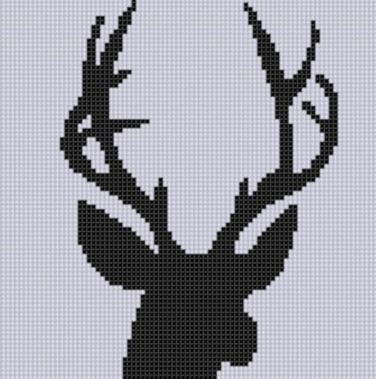 Deer Head 3 Cross ... by Motherbeedesigns | Embroidery Pattern - Looking for your next project? You're going to love Deer Head 3 Cross Stitch Pattern by designer Motherbeedesigns. - via @Craftsy