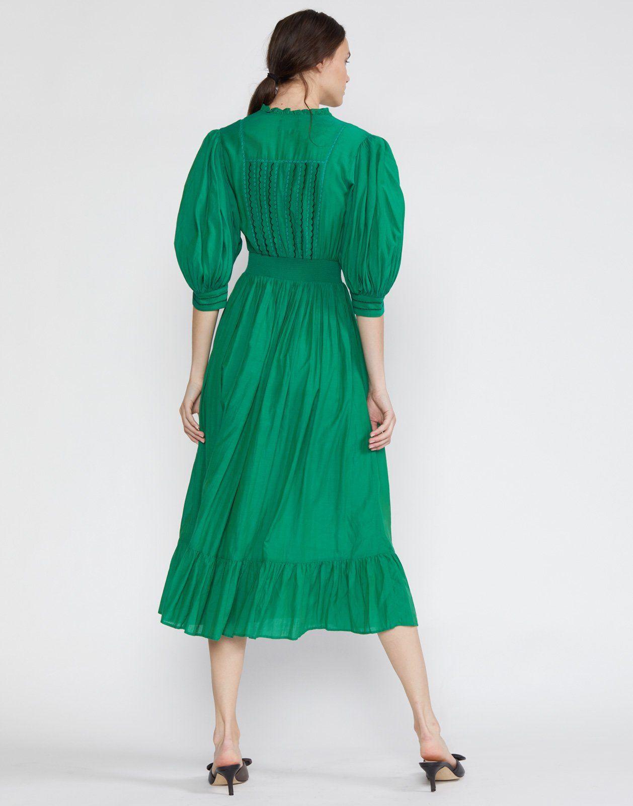 Laila Tassel Midi Dress Cynthia Rowley Dresses Midi Dress Green Midi Dress [ 1600 x 1258 Pixel ]