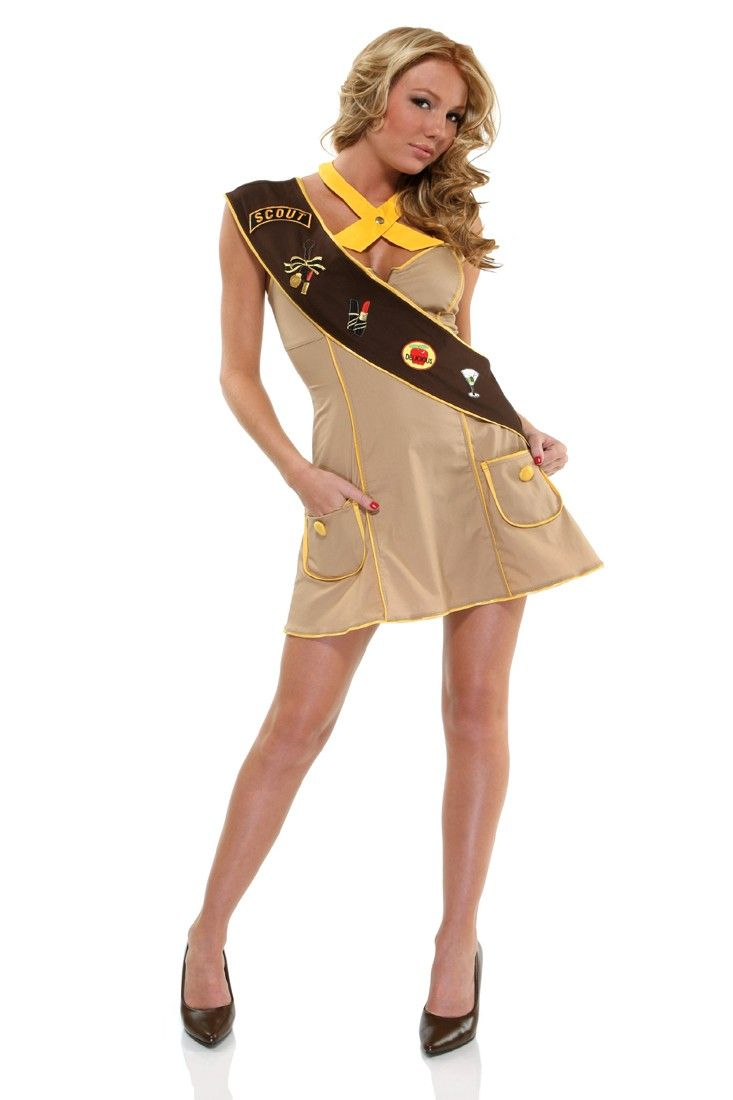 halloween costume girl scout sexy