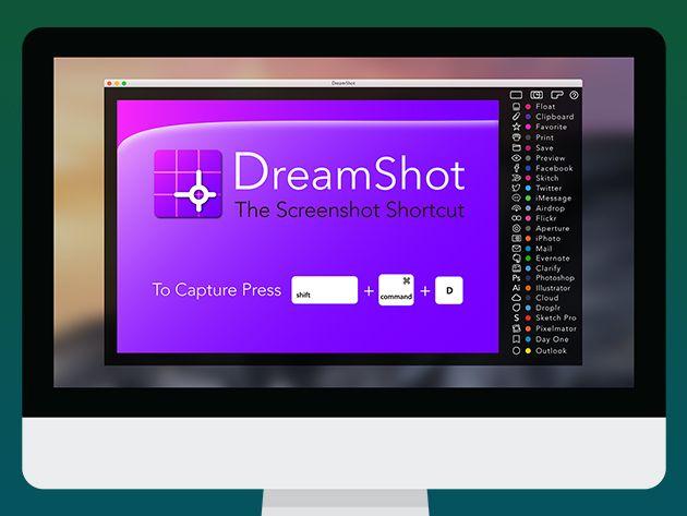 Free DreamShot Screen Capture Tool for Mac Designrfix