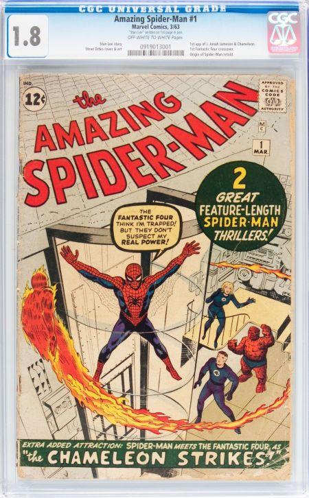 The Amazing Spider-Man #1 (Marvel, 1963)