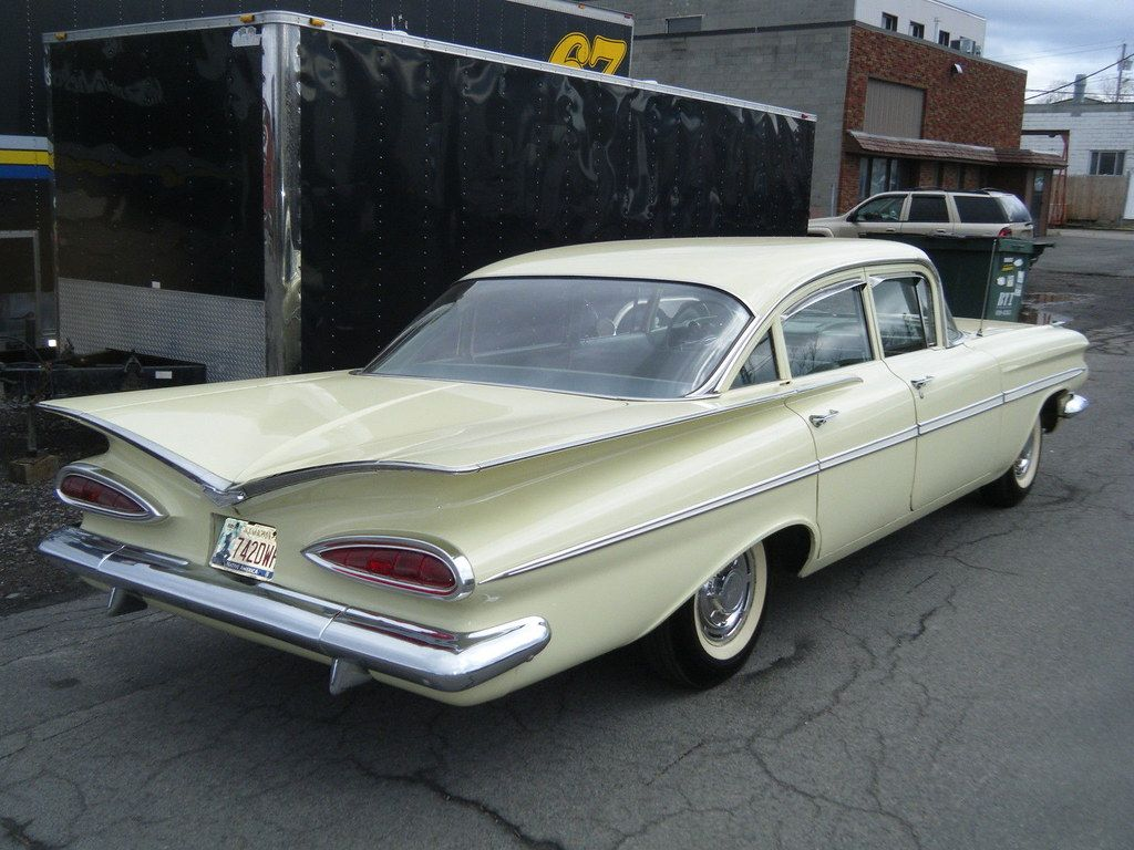 All Sizes 1959 Chevrolet Bel Air 4 Door Sedan Flickr Photo