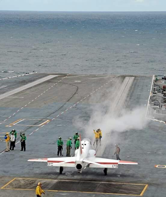 Training continues on board USS George H.W. Bush   ( CVN 77)