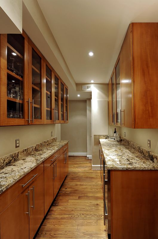 butlers pantry renovation adds ample storage to Washington, DC condo ...