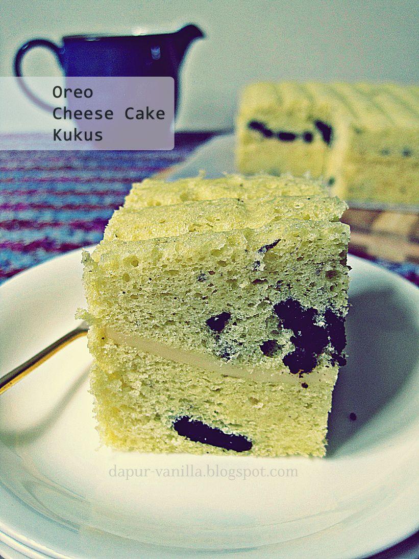 Cheese Cake Kukus : cheese, kukus, Dapur, Vanilla:, Cheese, Kukus, Oreo,, Cake,, Dessert, Recipes