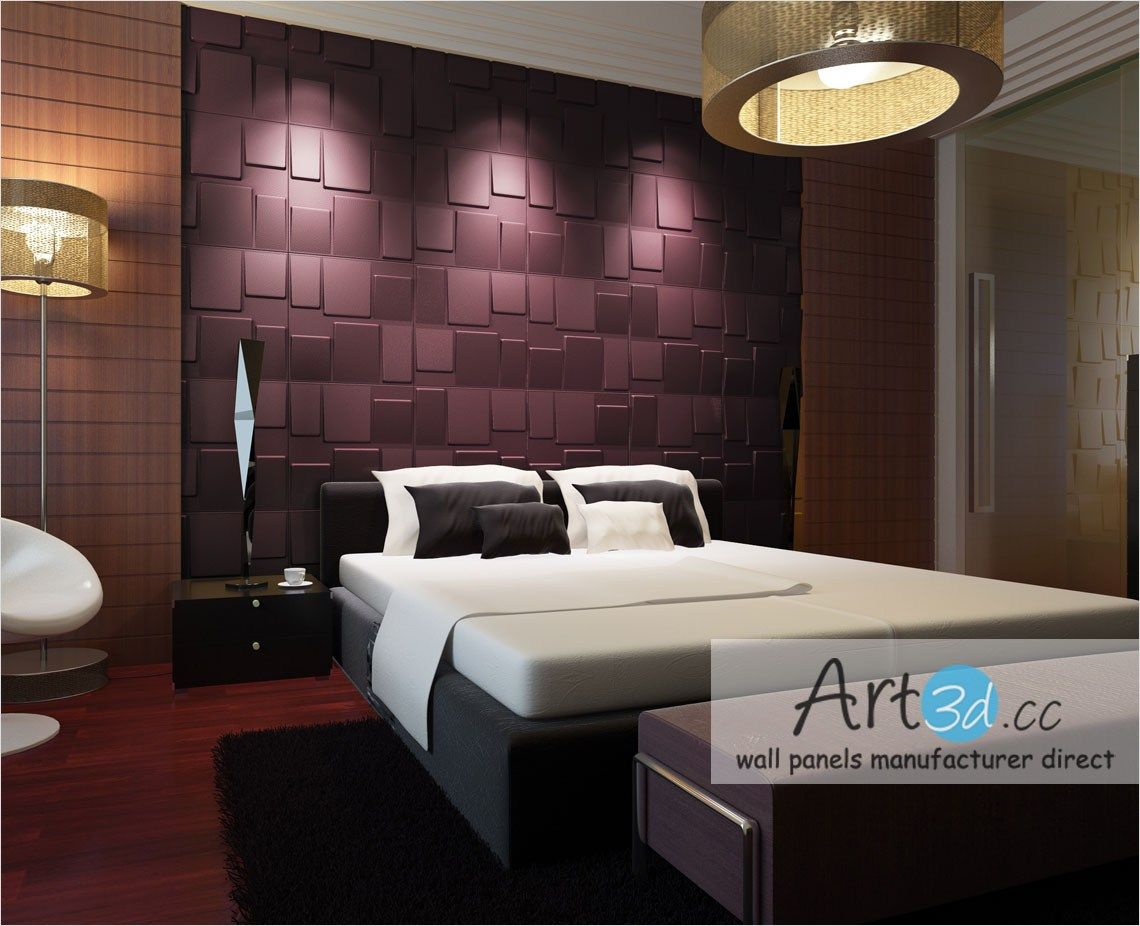 Stunning 3d Walls For Bedrooms Ideas Daily Home List Modern Bedroom Wall Decor Bedroom Wall Designs Wall Decor Bedroom