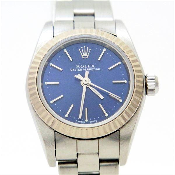 hot sales 7d67d c1a82 楽天市場】ロレックス 【ROLEX】レディース腕時計 【中古 ...