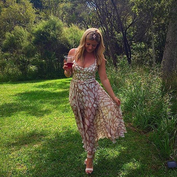 17712d9dc1 Our Darling client wearing our Kookai  Kendra  dress. We now have a 36 and  38 available for hire. Visit our website or call our Melbourne showroom to  book.