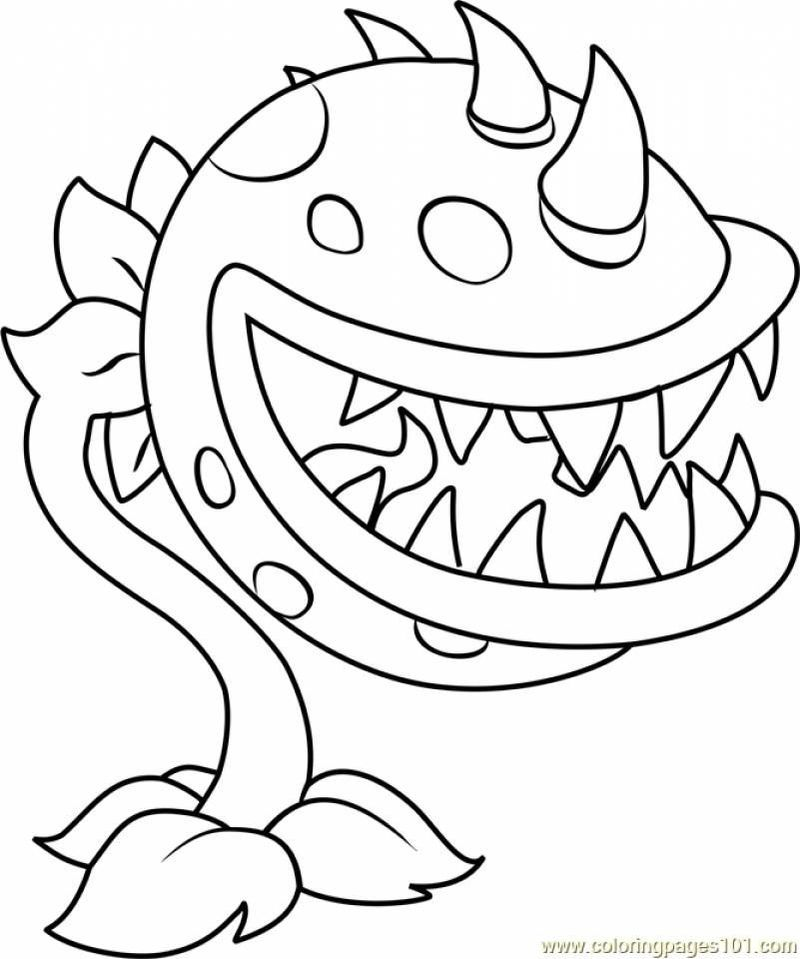 Plants Vs Zombies Coloring Pages Coloring Pages Coloring Pages To Print Plant Zombie