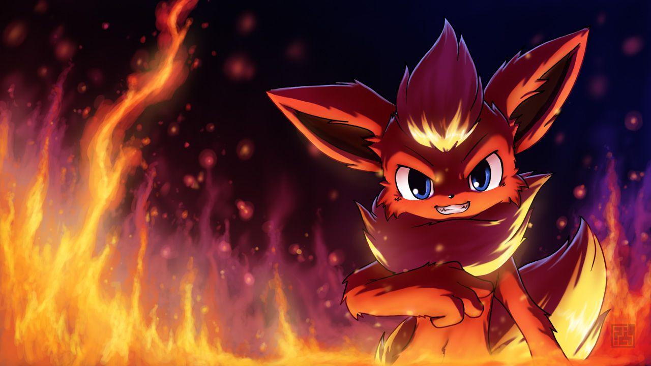 Flareon 1508036 Zerochan Pokemon Flareon Pokemon Pokemon Eevee Evolutions