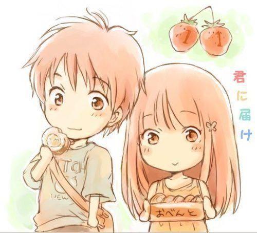 Trop chou dessin pinterest chou dessin chibi et - Dessin manga amoureux ...
