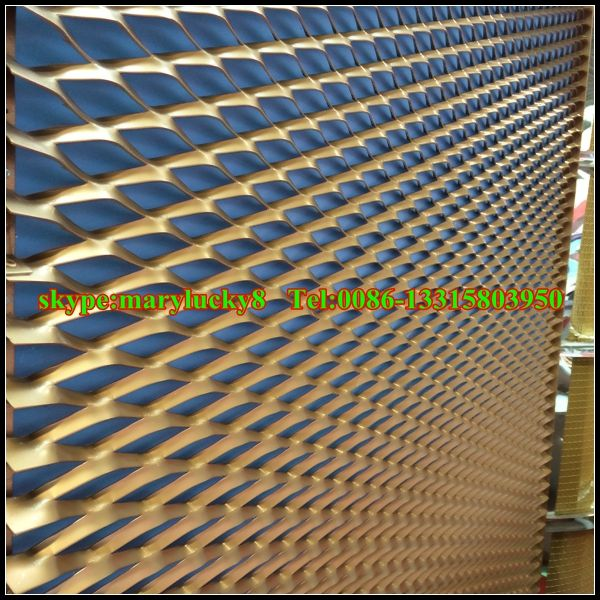 architectural expanded metal mesh facade specifications