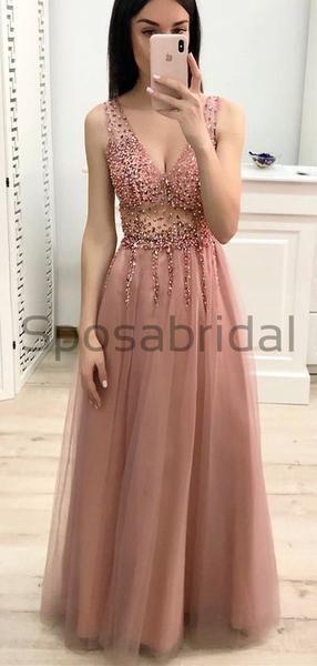 Elegant Formal Modest Prom Dresses Pd1783 #modestprom