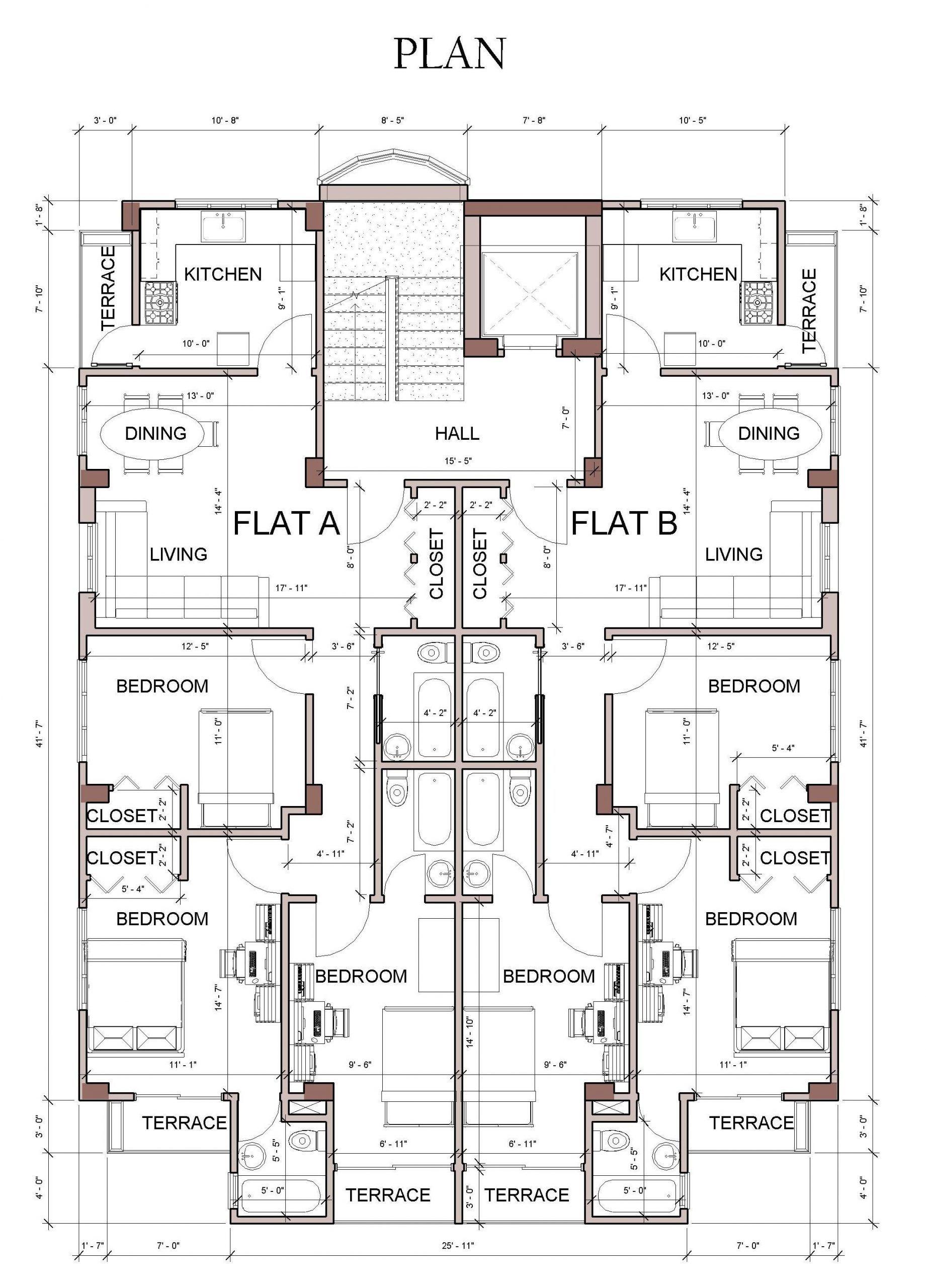 Autocad Floor Plan Samples 2020 Floor Plan Design Residential Architecture Plan Hotel Floor Plan