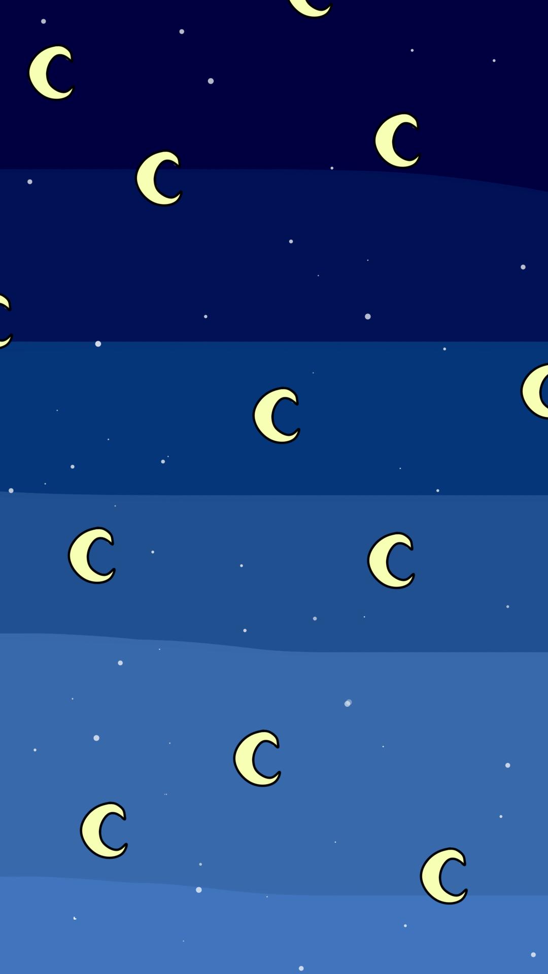 wallpaper #lockscreen #cute #moon #lua ...