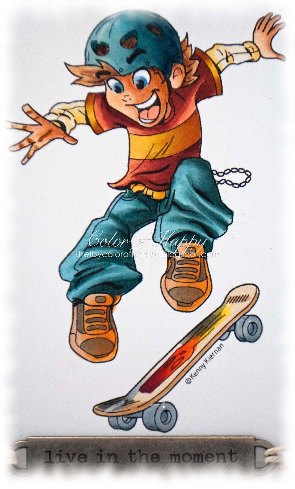 Image Result For Skateboard Dude Cartoon People Illustrations
